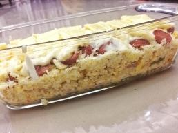 Cheesy Baked Rice Recipe