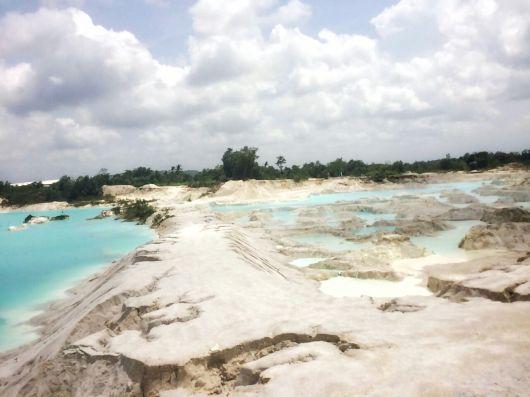 Kaolin Lake, Belitung Island
