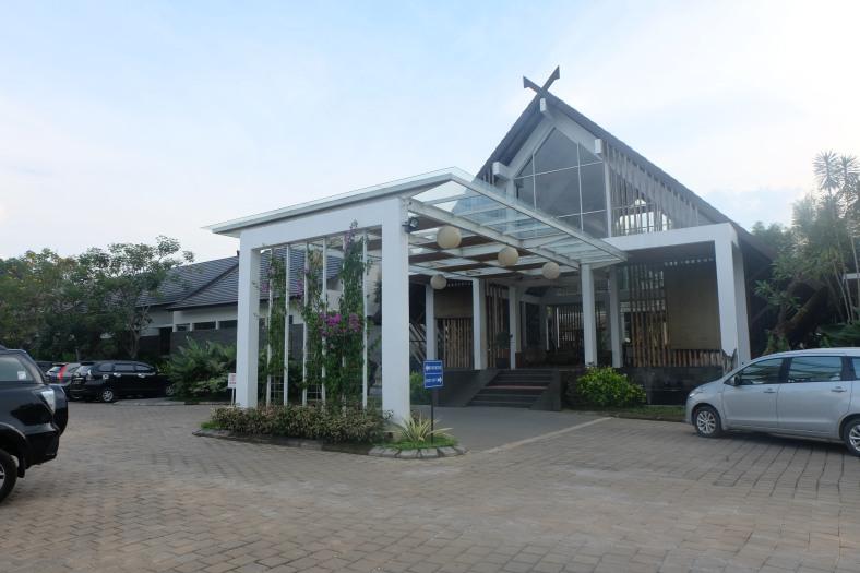rumah kito resort - lobby