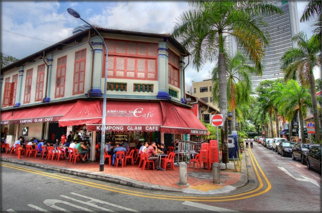Kampong Glam Cafe (source by google)