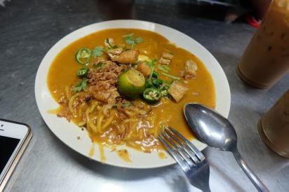 mee rebus - menu kampong glam cafe