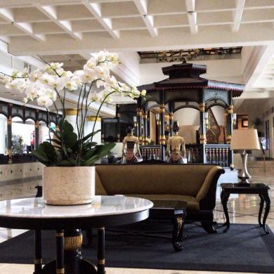 Lobby Santika Hotel Jogja